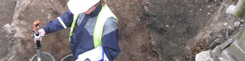 arkeologi työssään